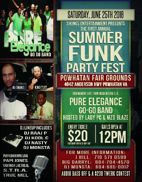2016 Summer Funk Party Fest